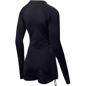 TYR Solid Fiona Long Sleeve One Piece Jumpsuit Women Black